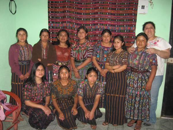 Mujeres trabajadoras de Guatemala.